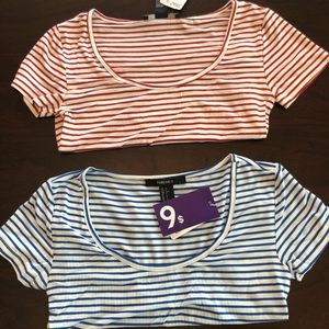 Tops - Crop top bundle NWT size small